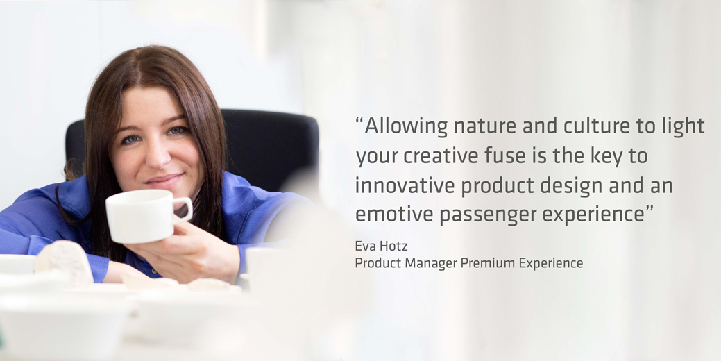 Eva Hotz, Product Manager for Premium Experience, SPIRIANT
