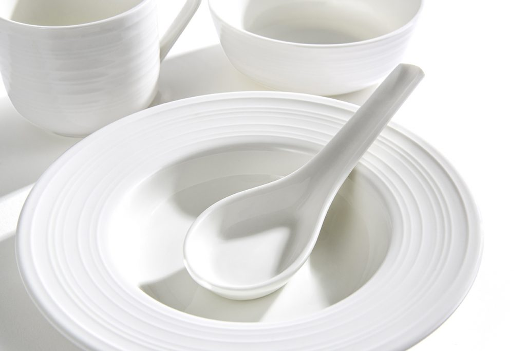 Dining ware, White Structure Concept